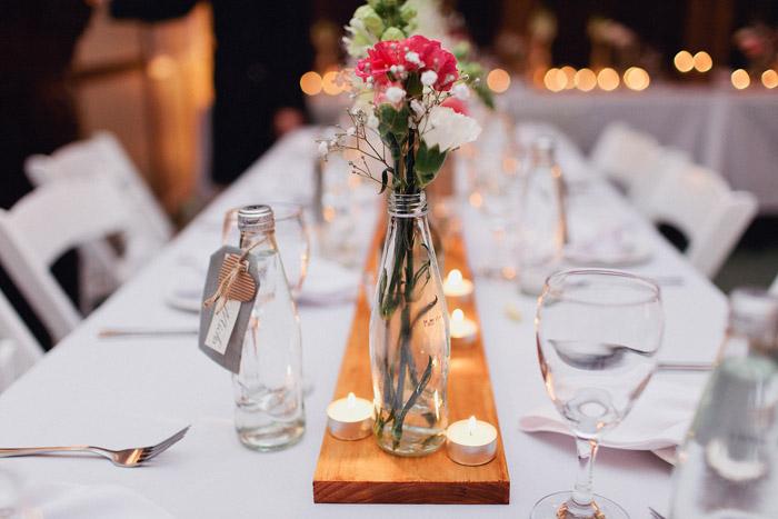 www.theweddingnotebook.com. Photography by Sayher Heffernan. Table décor