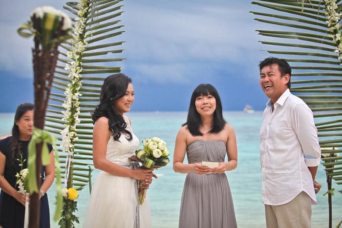 www.theweddingnotebook. Darren Jee Photography. Destination beach wedding at Koh Lipe
