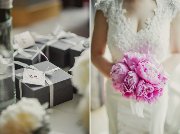 Pink bridal bouquet. Photography by Creative Clicks. www.theweddingnotebook.com