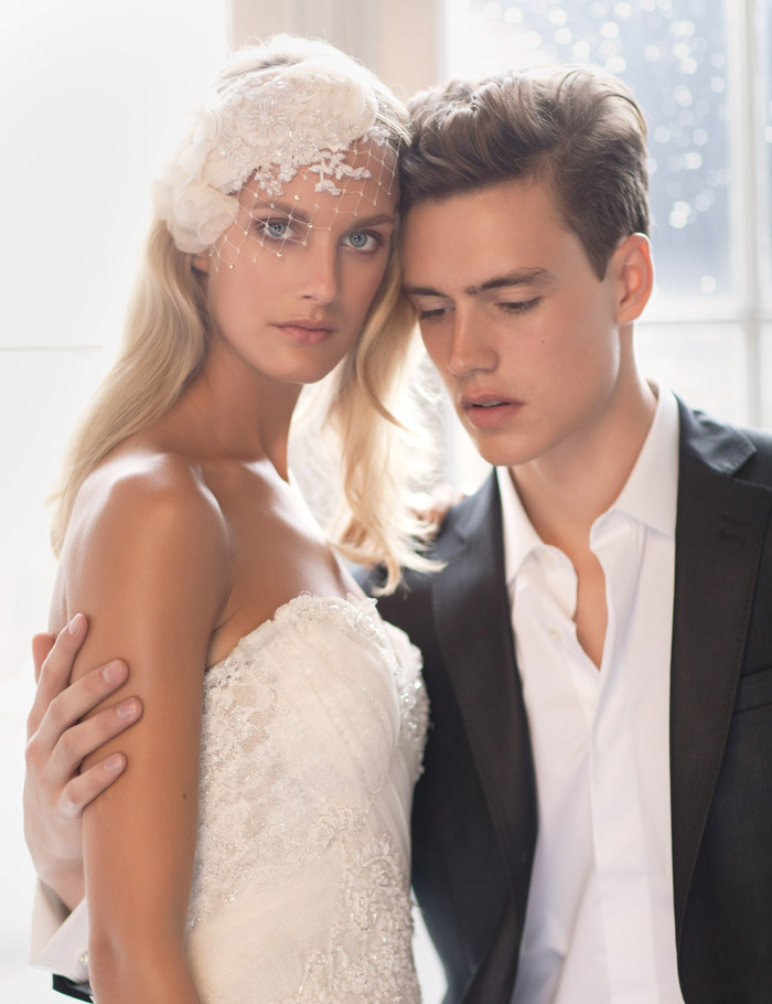 ELISE – Jannie Baltzer 2013 Bridal Headpiece Collection. www.theweddingnotebook.com