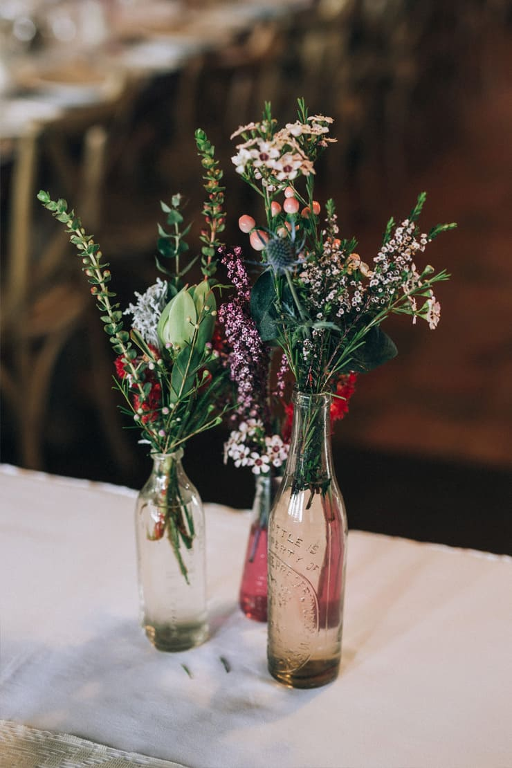A Boho Country Wedding With Native Flowers