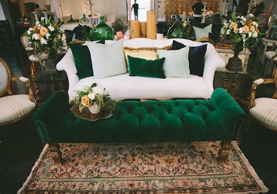 Emerald Green Amp Mustard Yellow Wedding Inspiration