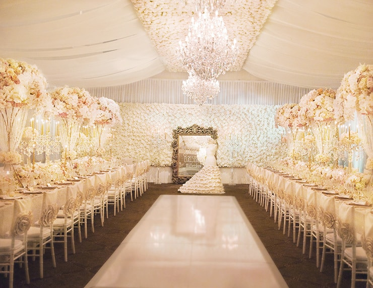 Luxurious Wedding Reception Inspiration