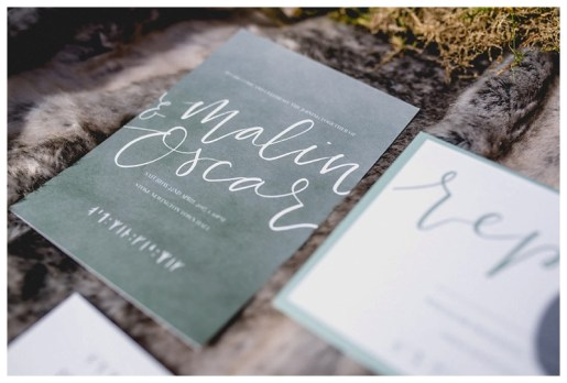 Sage & White Norse stationery