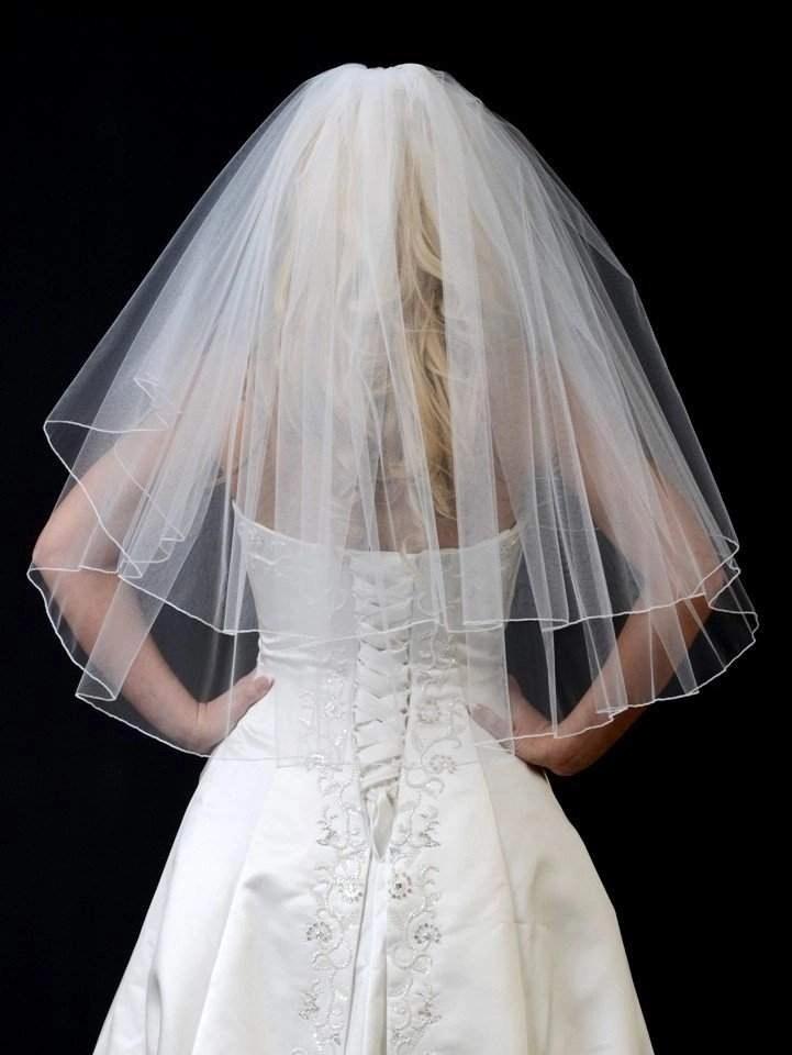 108 wide veil