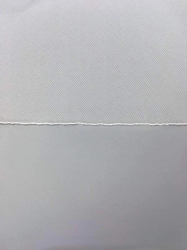 pencil edge veil closeup