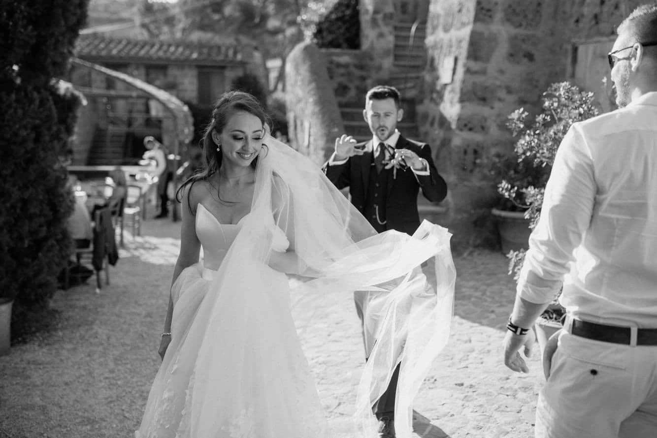 Real Bride Emma in our Brooke veil