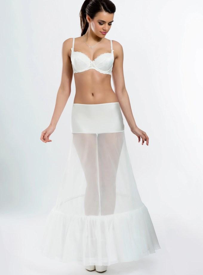 H1-220 BP1-220 wedding bridal underskirt petticoat with ruffle frill