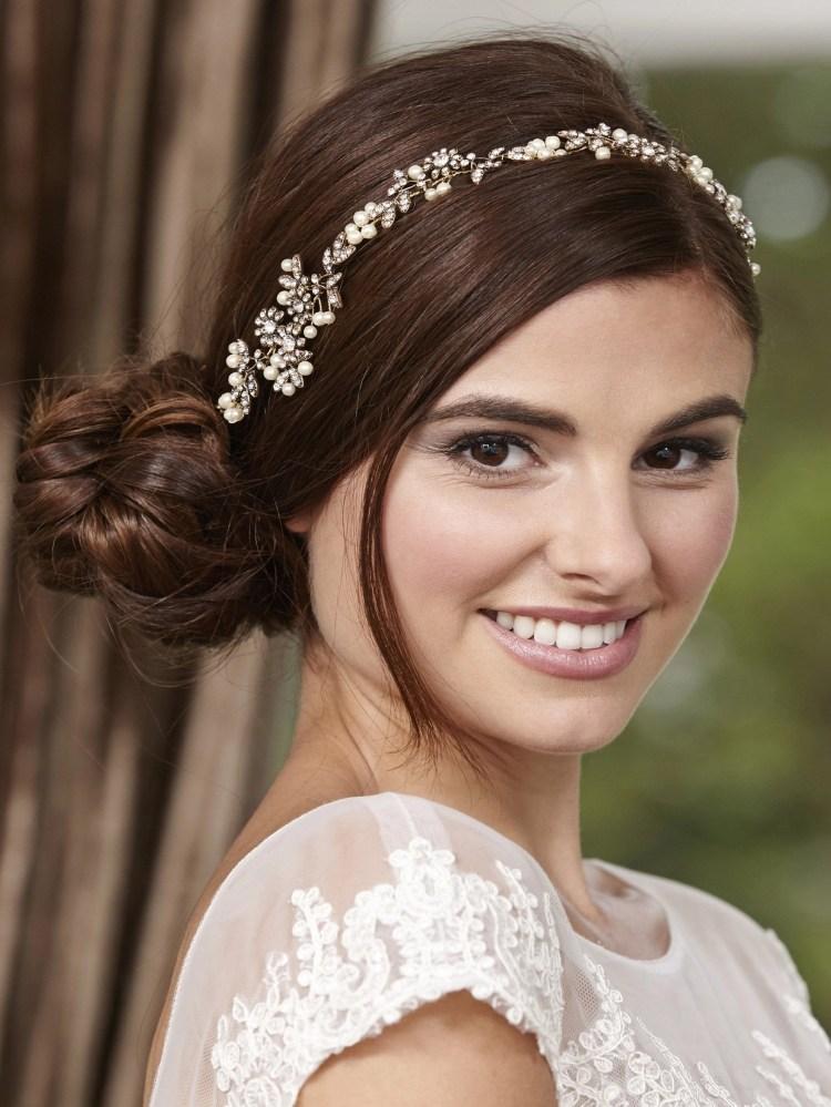 LP711 bridal hair vine