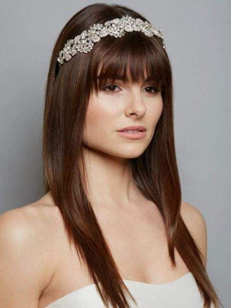 AW1256 – wide diamante bridal headband