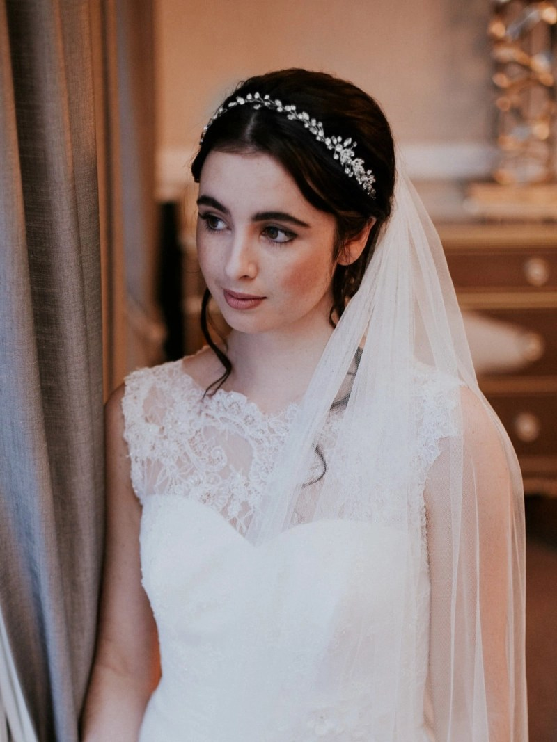 lt621 bridal hair vine