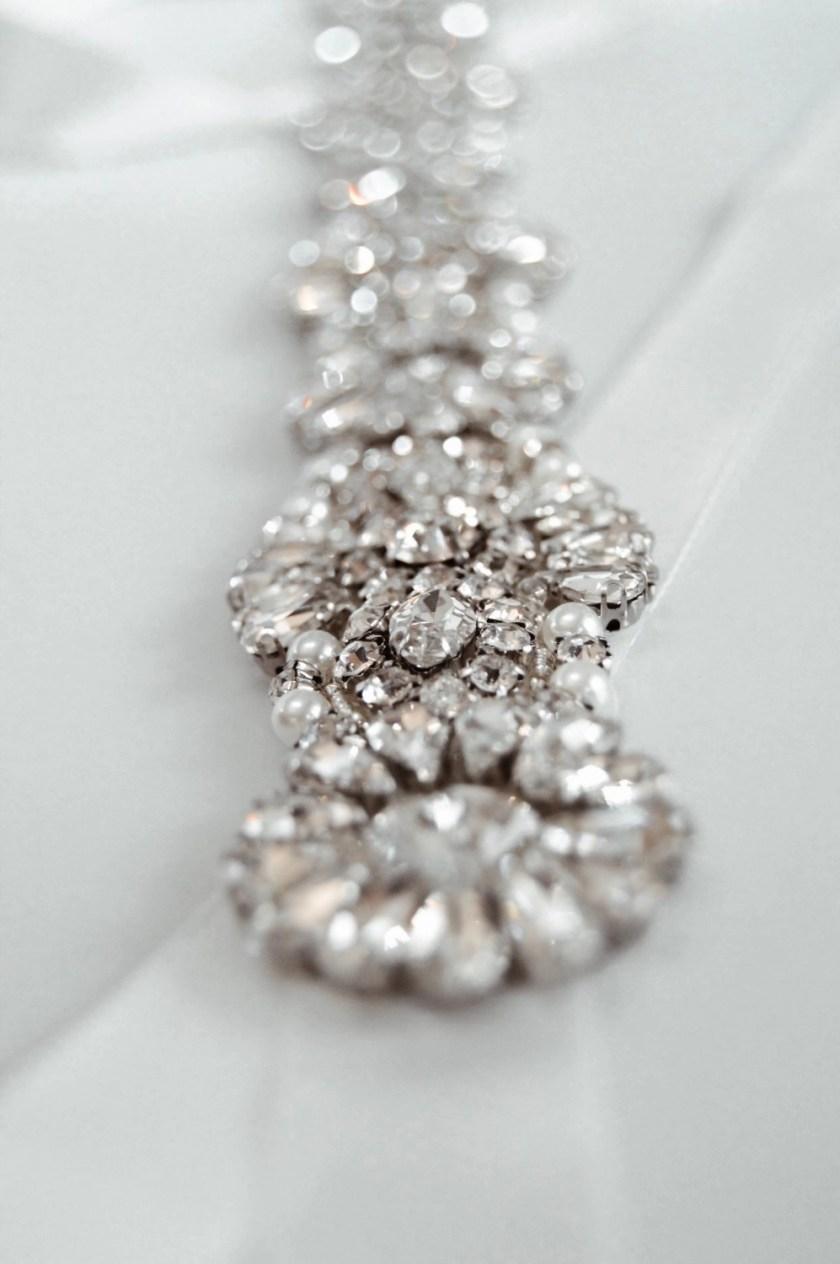 PBB1012 – diamante, pearl & seed bead bridal belt on ribbon sash (2)