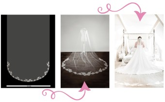 Bespoke Lace Veils: The step-by-step process of creating your perfect veil