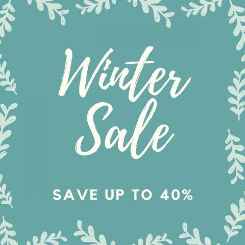 Winter sale square