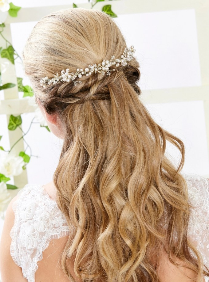 AR553 Briar hair accessory in silver