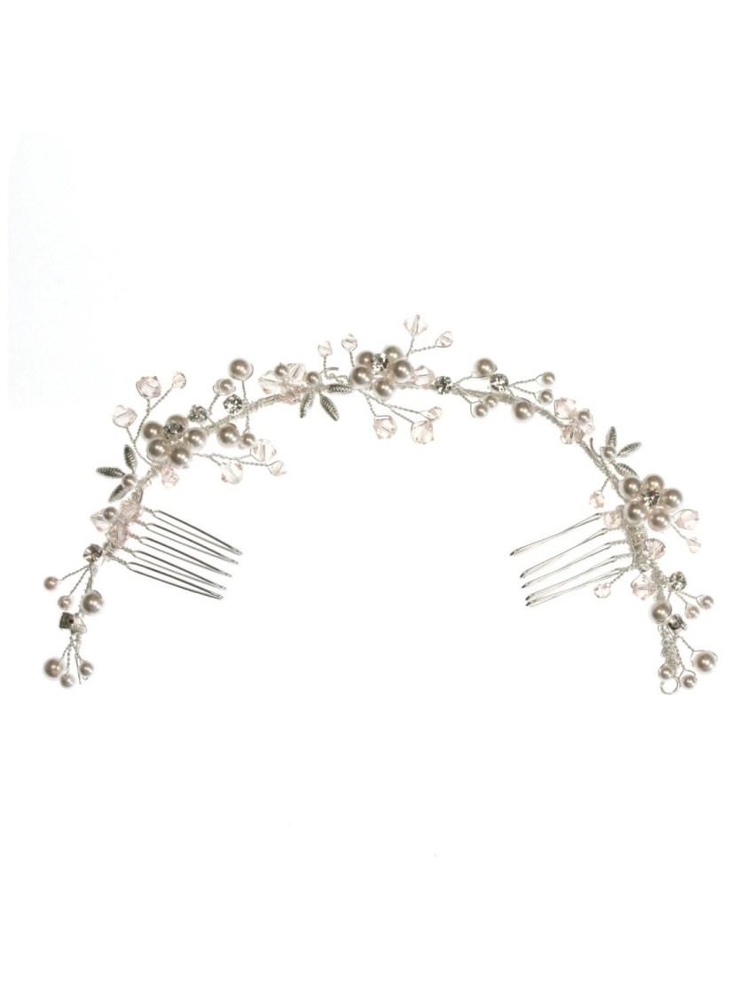 ar553 bridal hair vine
