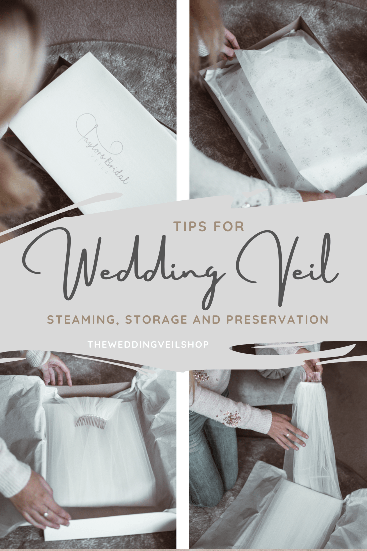 wedding veil care steaming storage preservation tips pinterest