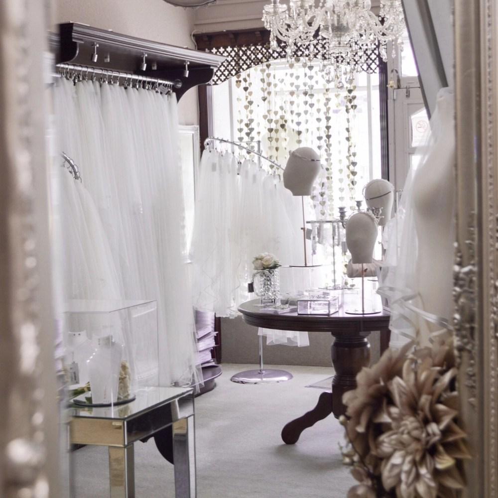 Taylors Bridal Boutique Blackpool - Inside The Wedding Veil Shop Online