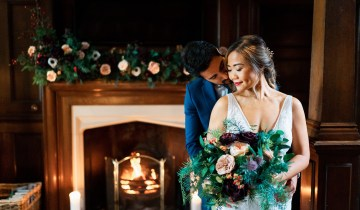 Christmas Wedding Inspiration | Styled Shoot