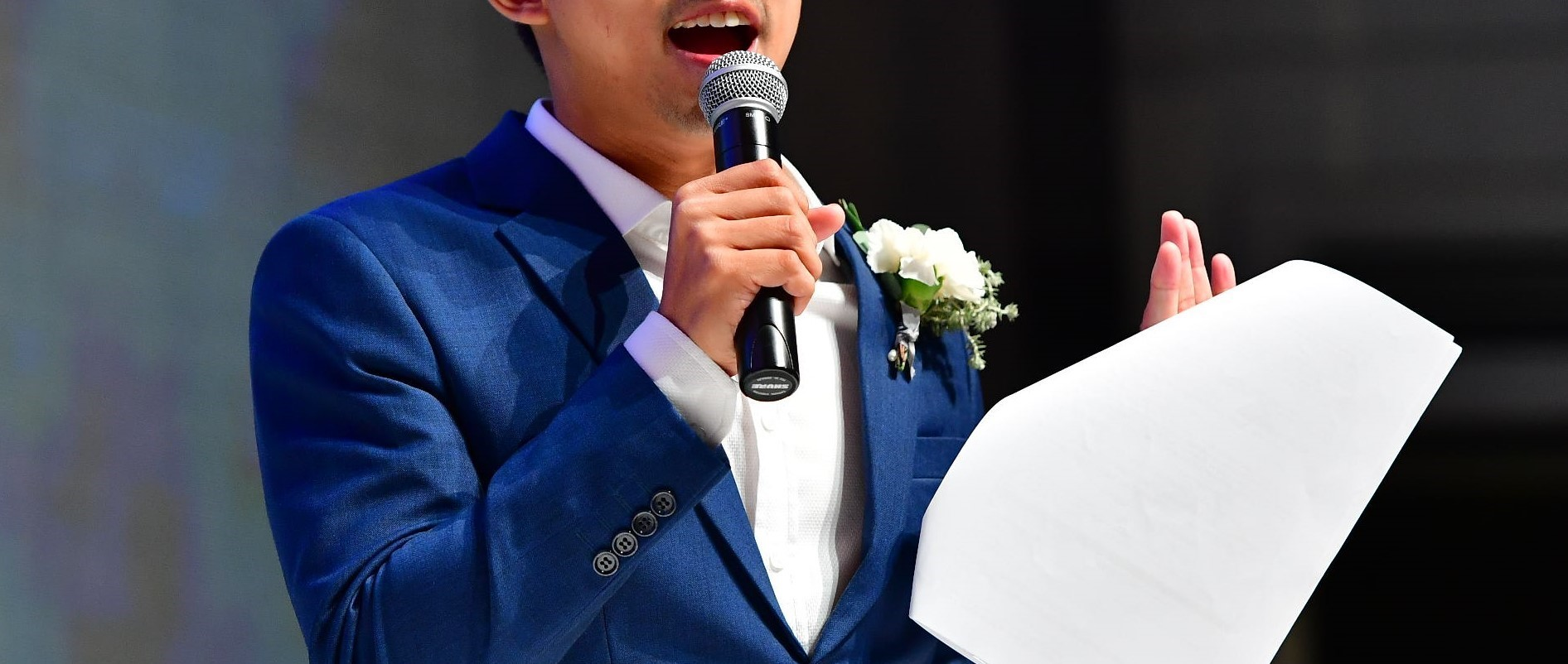 professional emcee for wedding