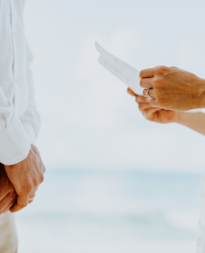 How To Nail Your Wedding Vows