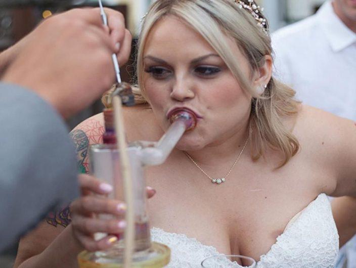 This Couple's Marijuana Wedding Included $8,000 Worth Of Cannabis