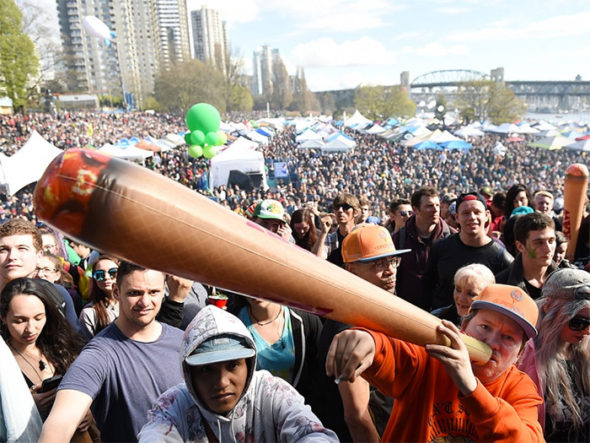 Canadian 420 Protest returns with new meaning