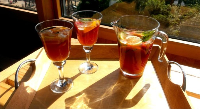 Pimms Iced Tea - as British as Mary Poppins & Scones
