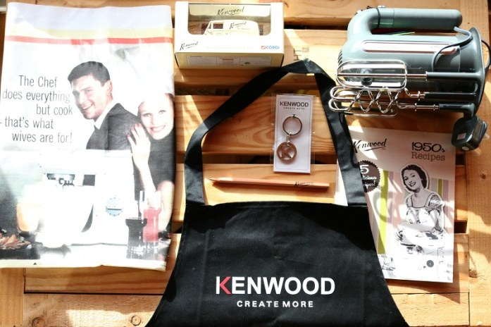 A bag of Kenwood treats
