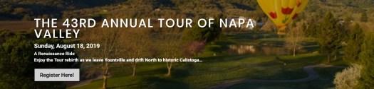 Tour of Napa Valley 2019