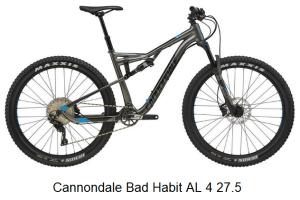 Cannondale Bad Habit AL 4 27.5 Bike