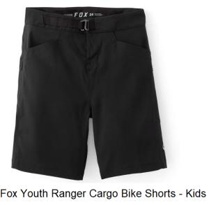 Fox Youth Ranger Cargo Bike Shorts - Kid's