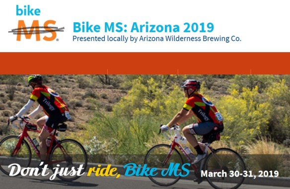 Bike MS Arizona 2019