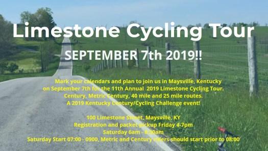 Limestone Cycling Tour 2019