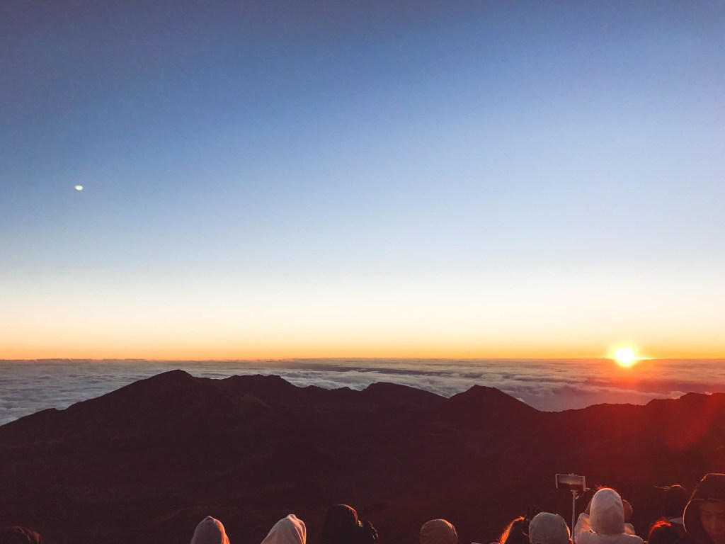 haleakala national park, maui sunrise, hawaii