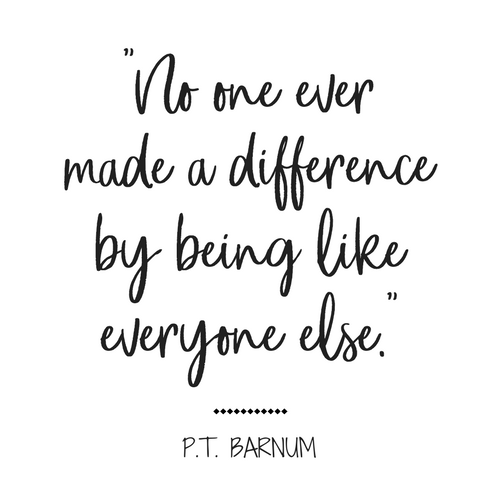 No one ever made a difference.. // Greatest Showman Quotes, P.T. Barnum