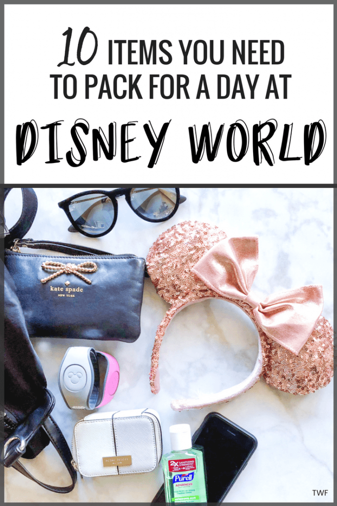 What to Bring to Disney World, Pack Your Bag, Disney Must-Haves, Disney Backpack, Disney Packing, Items to Bring to Disney #DisneyWorld #packinglist #travelblog #floridablogger #minnieears #Disneylist