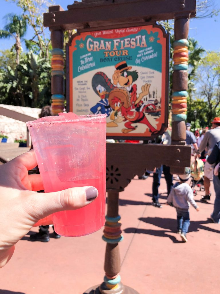 Epcot Flower and Garden Festival 2018, Jardin de Fiestas, Mexico, Rose Margarita, World Showcase, Food Favorites, Eat Around the World, Walt Disney World, Epcot Festival, What to Eat at Epcot, #disneytips #festivalfood #waltdisneyworld #disneyblogger
