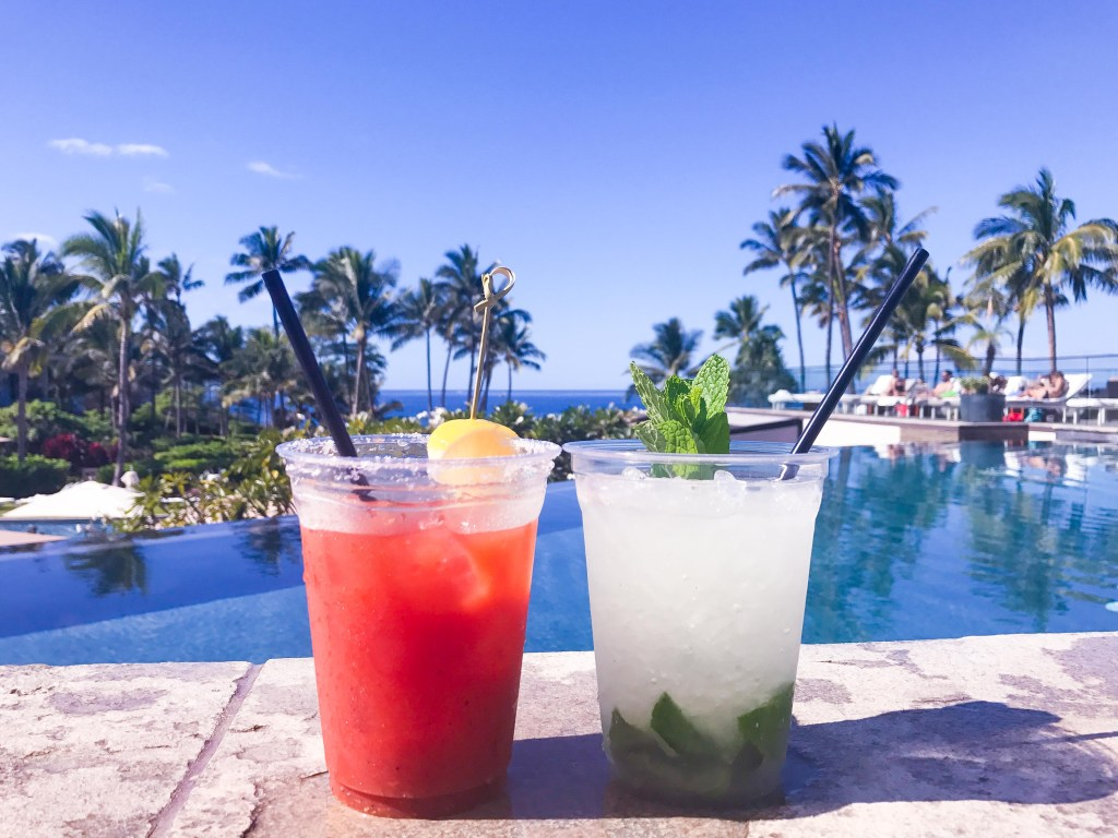 drinks in Maui, things to do before baby, Hawaii vacation