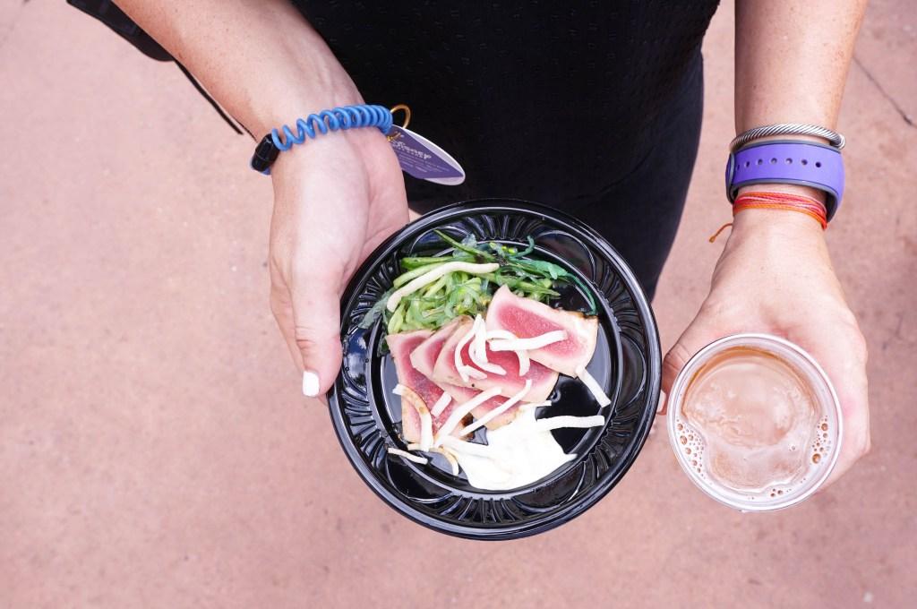 Food & Wine Festival Hawaii Tuna Tataki
