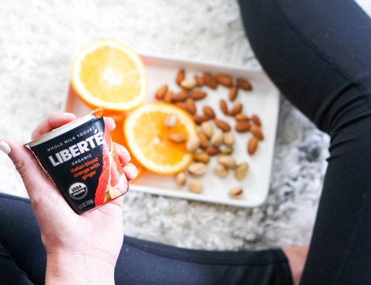 Liberté Blood Orange with Ginger Yogurt // Sweepstakes, Win a Trip to Italy, Healthy Routine Post-Vacation