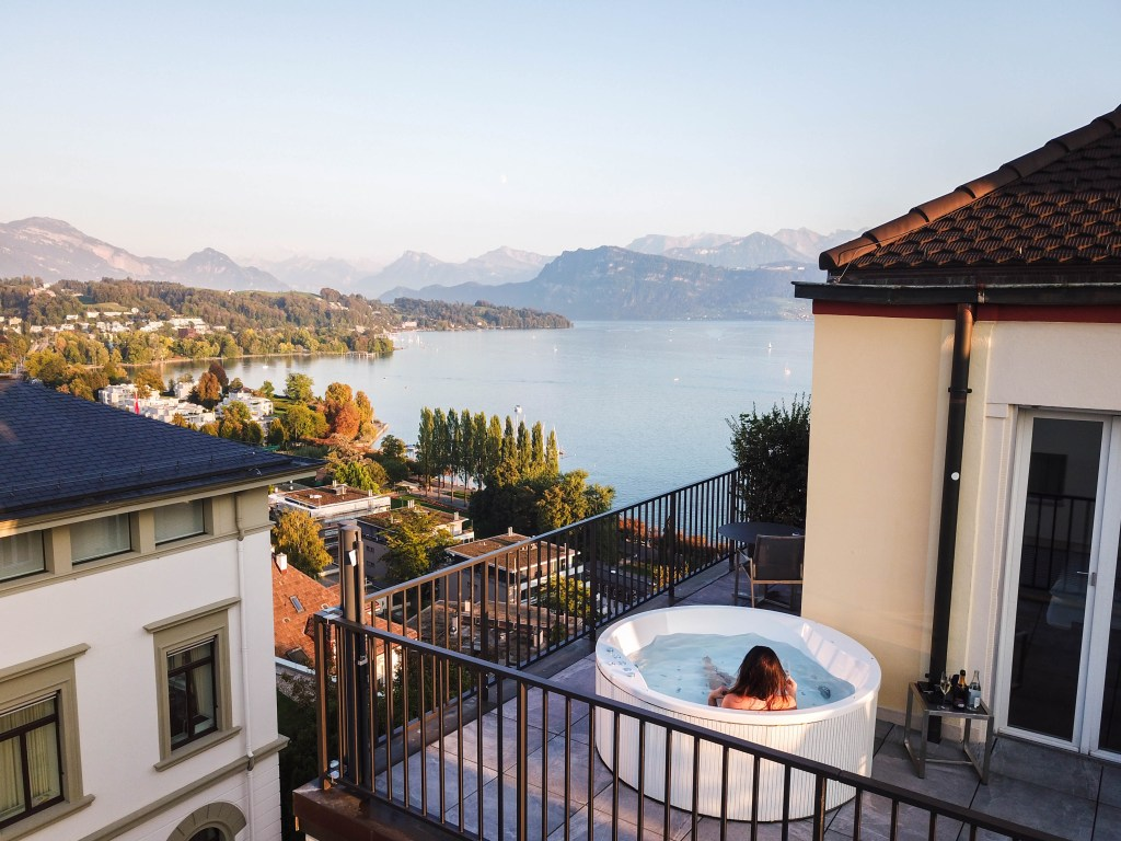 Art Deco Hotel Montana, Junior Corner Suit City View, Lake Lucerne, Where to Stay in Lucerne