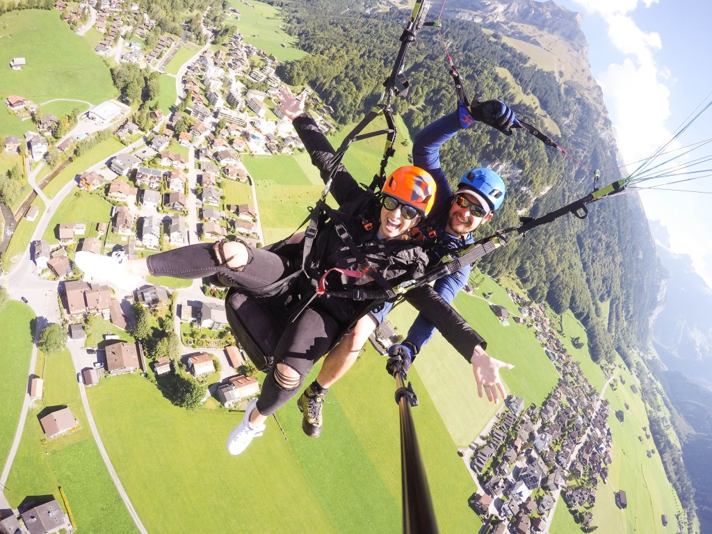 Paragliding in Lucerne, Switzerland