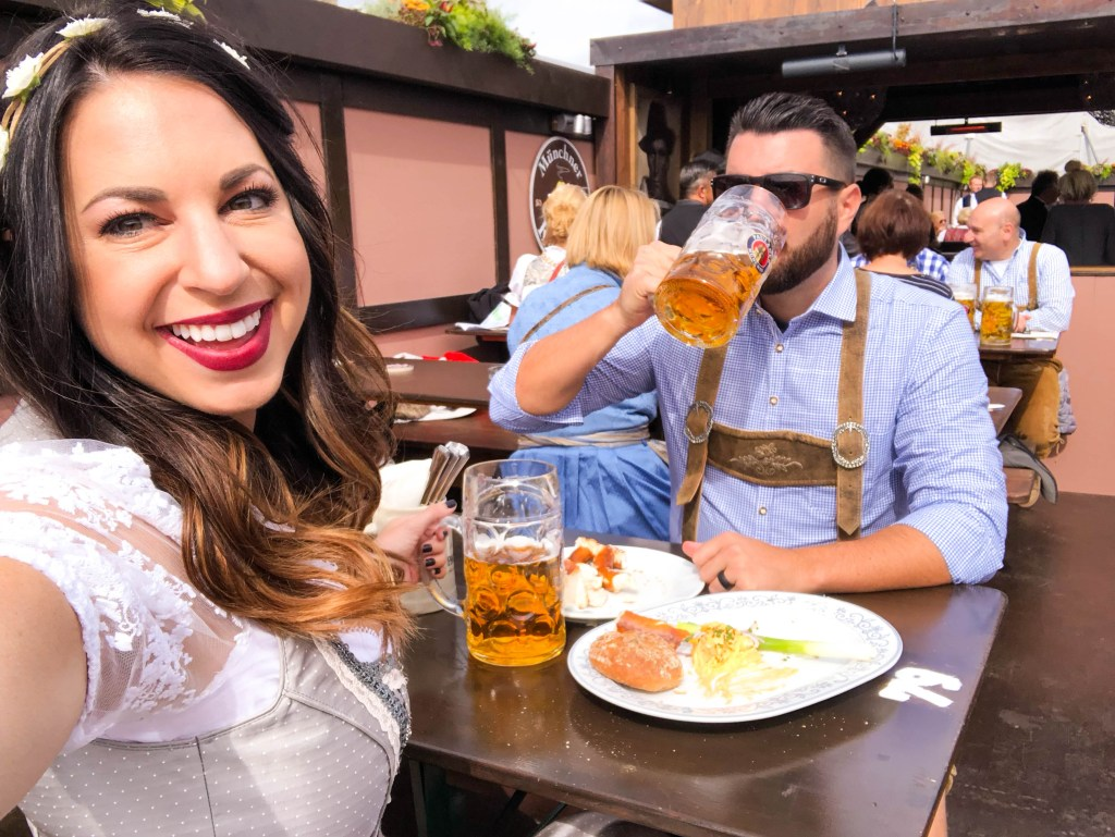 Oktoberfest Biergarten, Oktoberfest beer garden, Oktoberfest guide