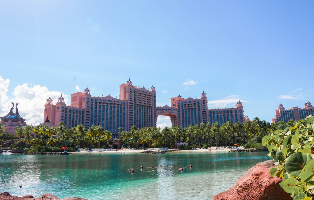 Bachelorette party at the Atlantis, Paradise Island