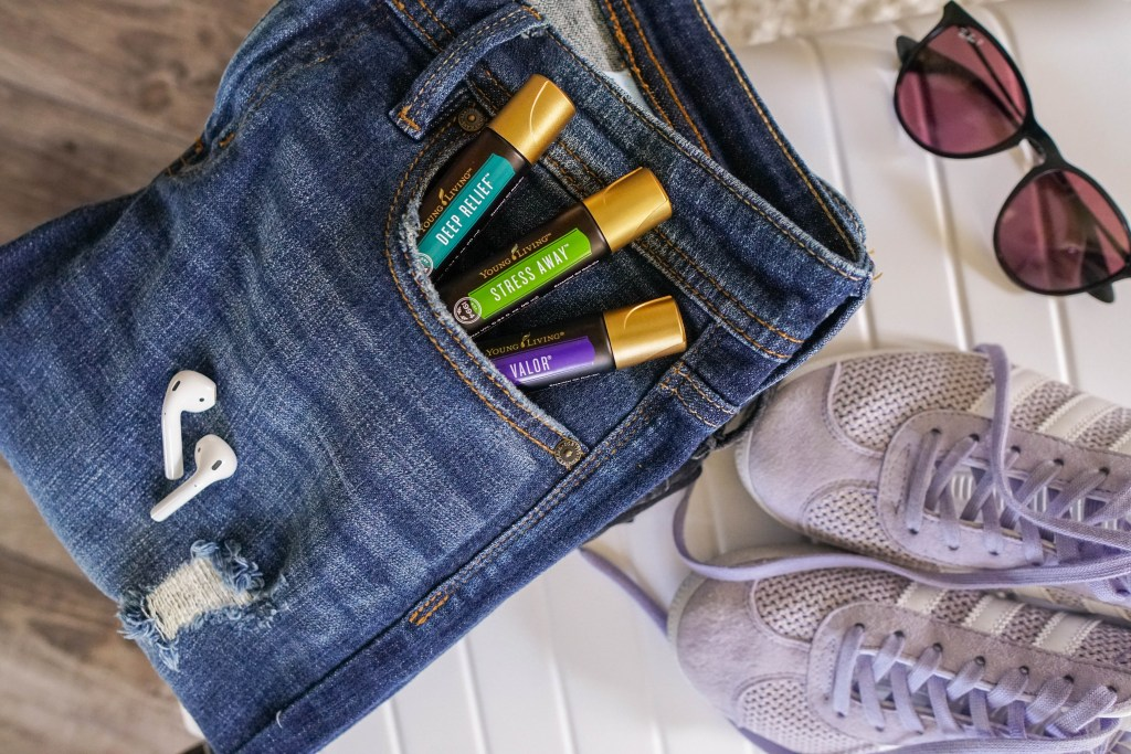 Young Living essential oil rollers, essential oil roll ons, essential oils for travel