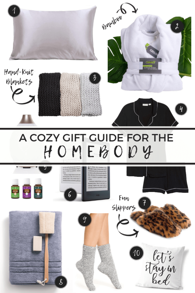 A Cozy Gift Guide for the Homebody // cozy gifts, homebody gifts, gifts for the home, gifts for her, gifts for him, gifts for mom, gifts for sister, gifts for best friend, unique gift ideas #giftguide #holidays #birthdaygifts #cozygifts #giftsforher #giftsforhim #giftsideas #holidayinspo #lifestyleblogger