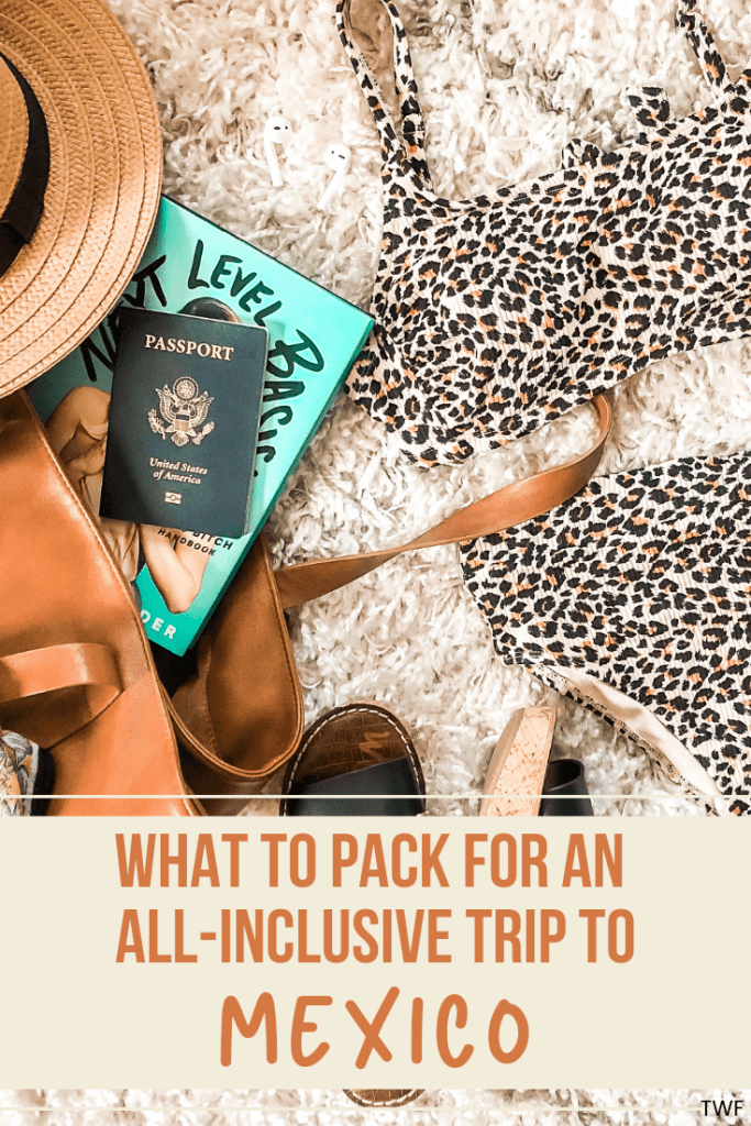What to Pack for an All-Inclusive Trip to Mexico // packing for a beach trip, packing list, beach vacation, weekend getaway #allinclusive #packinglist #mexico #beachvacation #travelblogger
