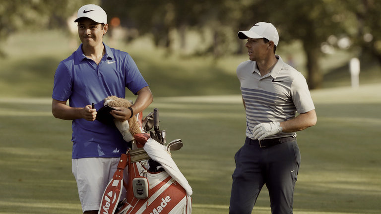 WHAT RORY LOOKS FOR IN A CADDIE