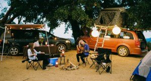 Rent a Camper Van or RV- Check out theDodge Grand Caravans, Chrysler Town & Country and Ford E350s fromLost Campers.You can pick up your camper van rental inCalifornia or Utah. The vans sleep 2 to 5 people.